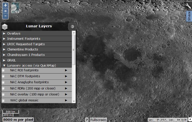 Виртуальная экспедиция на Луну. Практическое пособие - 12