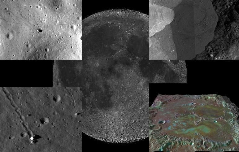 Виртуальная экспедиция на Луну. Практическое пособие - 1