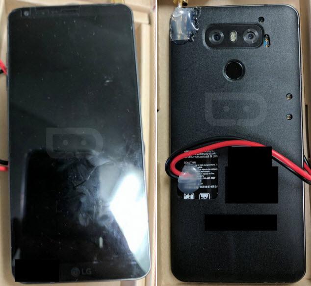 Опубликованы фотографии прототипа смартфона LG G6