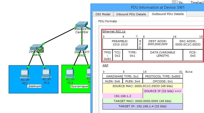 Основы компьютерных сетей. Тема №6. Понятие VLAN, Trunk и протоколы VTP и DTP - 21
