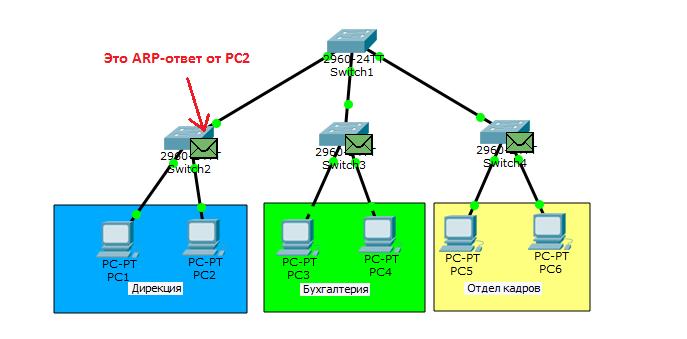 Основы компьютерных сетей. Тема №6. Понятие VLAN, Trunk и протоколы VTP и DTP - 6