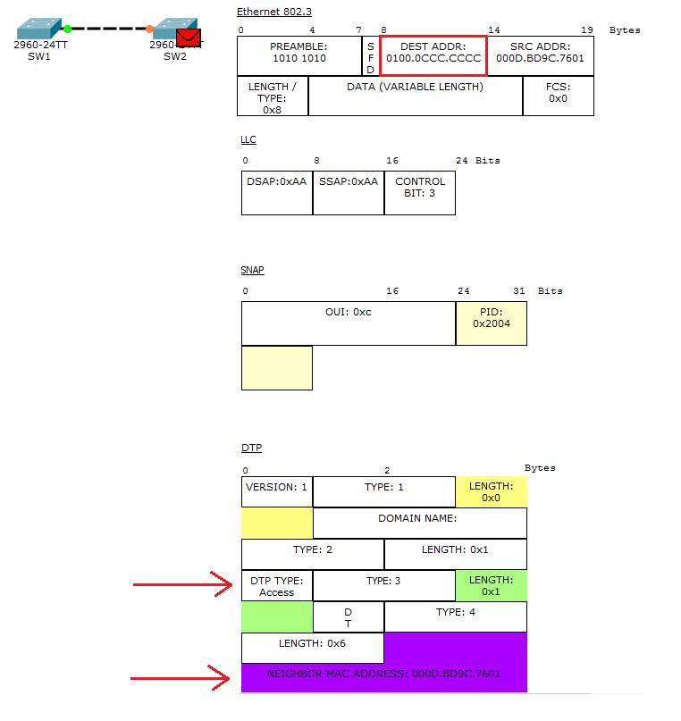 Основы компьютерных сетей. Тема №6. Понятие VLAN, Trunk и протоколы VTP и DTP - 75