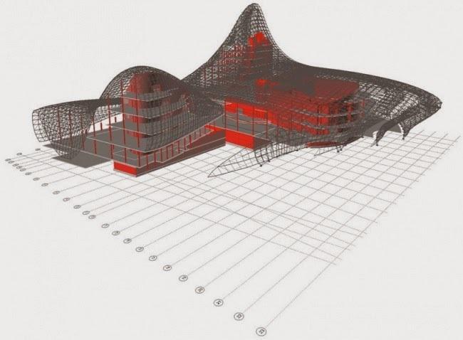 Параметрическая архитектура будущего Захи Хадид - 12