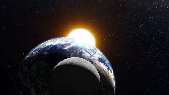 Земля и Луна могут когда-нибудь столкнуться