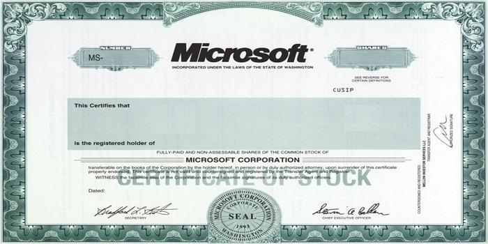 Microsoft снова продаёт облигации на крупную сумму