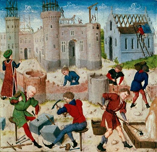 Как построить средневековый замок - 4