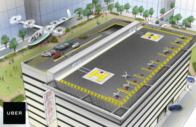 Инженер НАСА поможет Uber воплотить в жизнь идею летающих машин