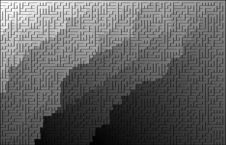 Классические алгоритмы генерации лабиринтов. Часть 2: погружение в случайность - 2