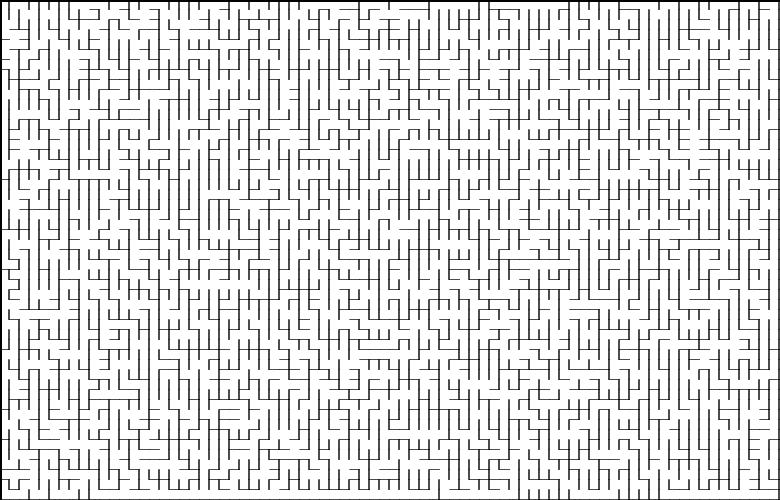 Классические алгоритмы генерации лабиринтов. Часть 2: погружение в случайность - 1