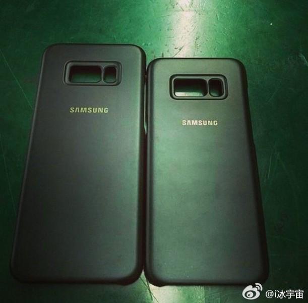 Новые фото чехлов говорят о том, что Galaxy S8 всё-таки получит дактилоскоп рядом с камерой