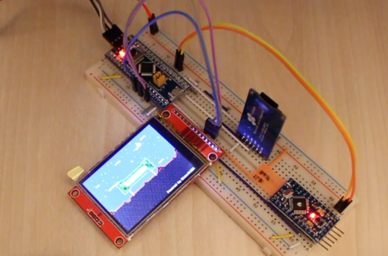 Программный графический сопроцессор на STM32 - 1