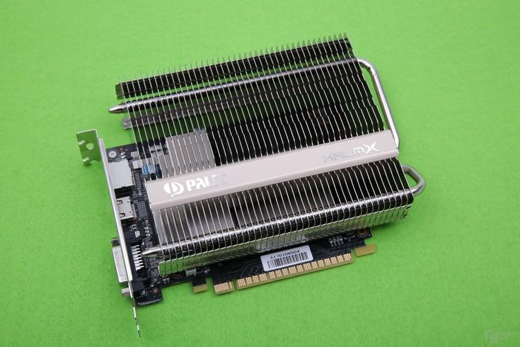 Palit оснастила карту GeForce GTX 1050Ti KalmX пассивной СО