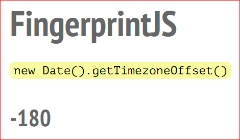 Browser Fingerprint – анонимная идентификация браузеров - 13