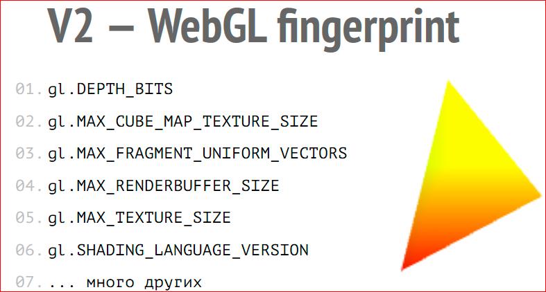 Browser Fingerprint – анонимная идентификация браузеров - 25