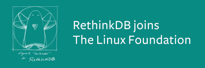 RethinkDB: живее всех живых. Теперь под крылом Linux Foundation - 1