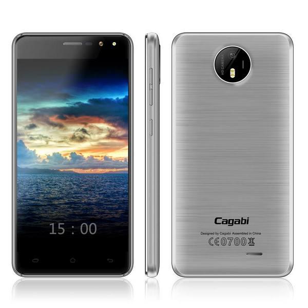 Бюджетный смартфон Cagabi Two стоимостью $80 получил изогнутый по бокам дисплей