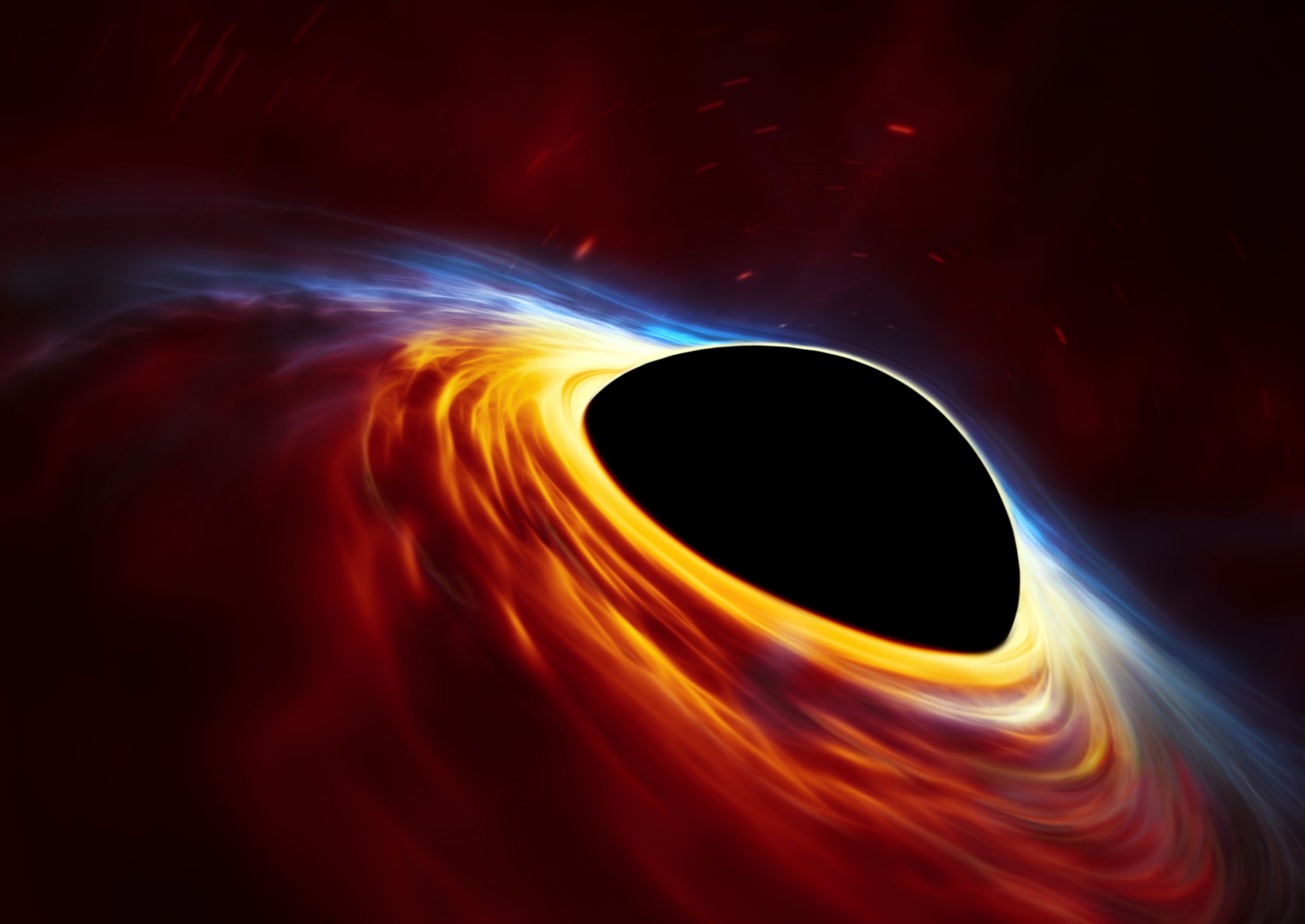 Массивная черная дыра за 10 лет полностью «съела» соседнюю звезду - 1