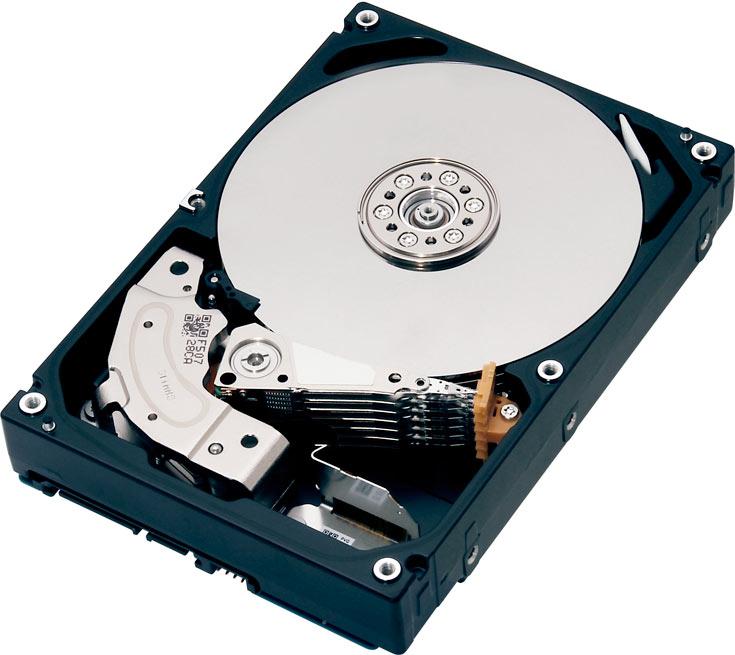 Накопители характеризуются скоростью вращения шпинделя 7200 об/мин и объемом кэш-памяти 128 МБ
