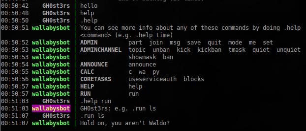 VulnHub: Выкидываем неугодных из IRC в Wallaby's Nightmare - 12