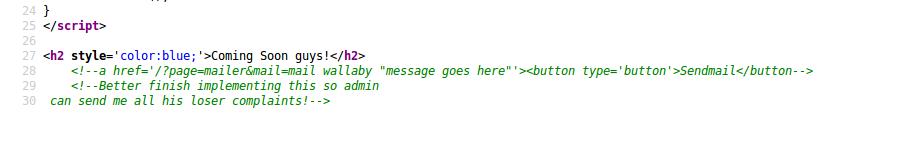 VulnHub: Выкидываем неугодных из IRC в Wallaby's Nightmare - 8