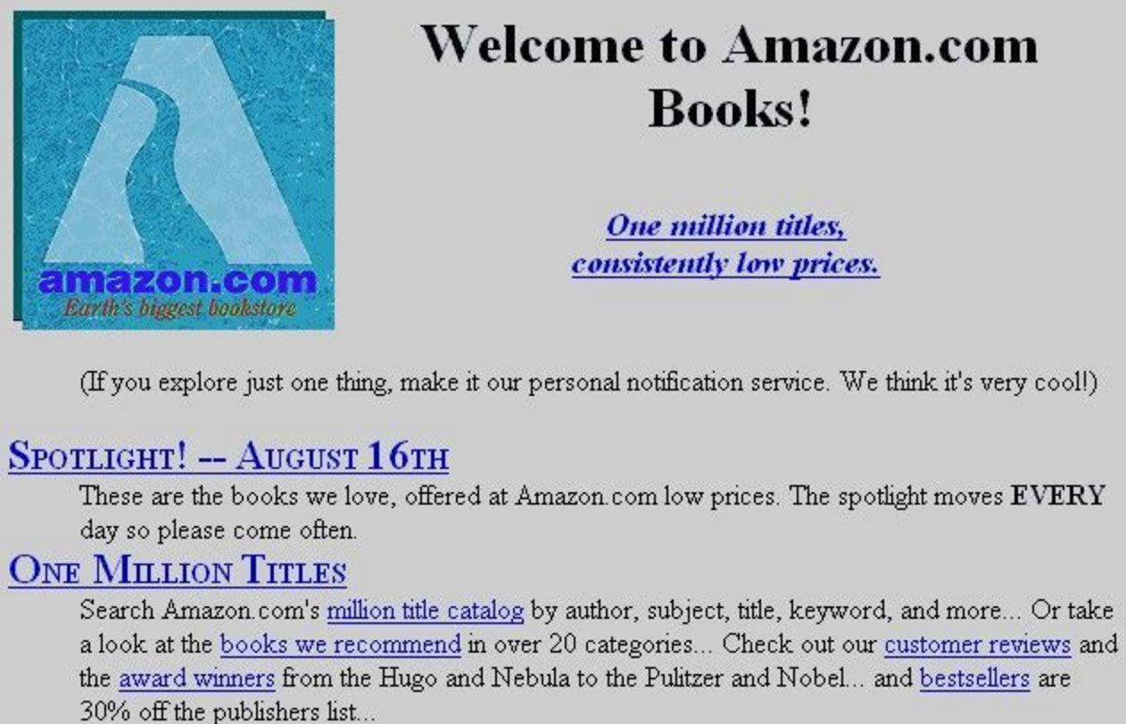 История Amazon: из гаража до летающих складов за 20 лет - 5