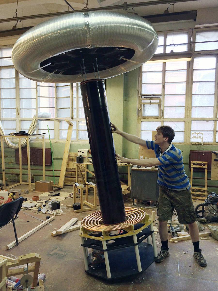 Как мы делали самую большую катушку Тесла в России - 3