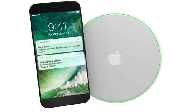 Беспроводное зарядное устройство для iPhone 8 нужно будет докупать отдельно