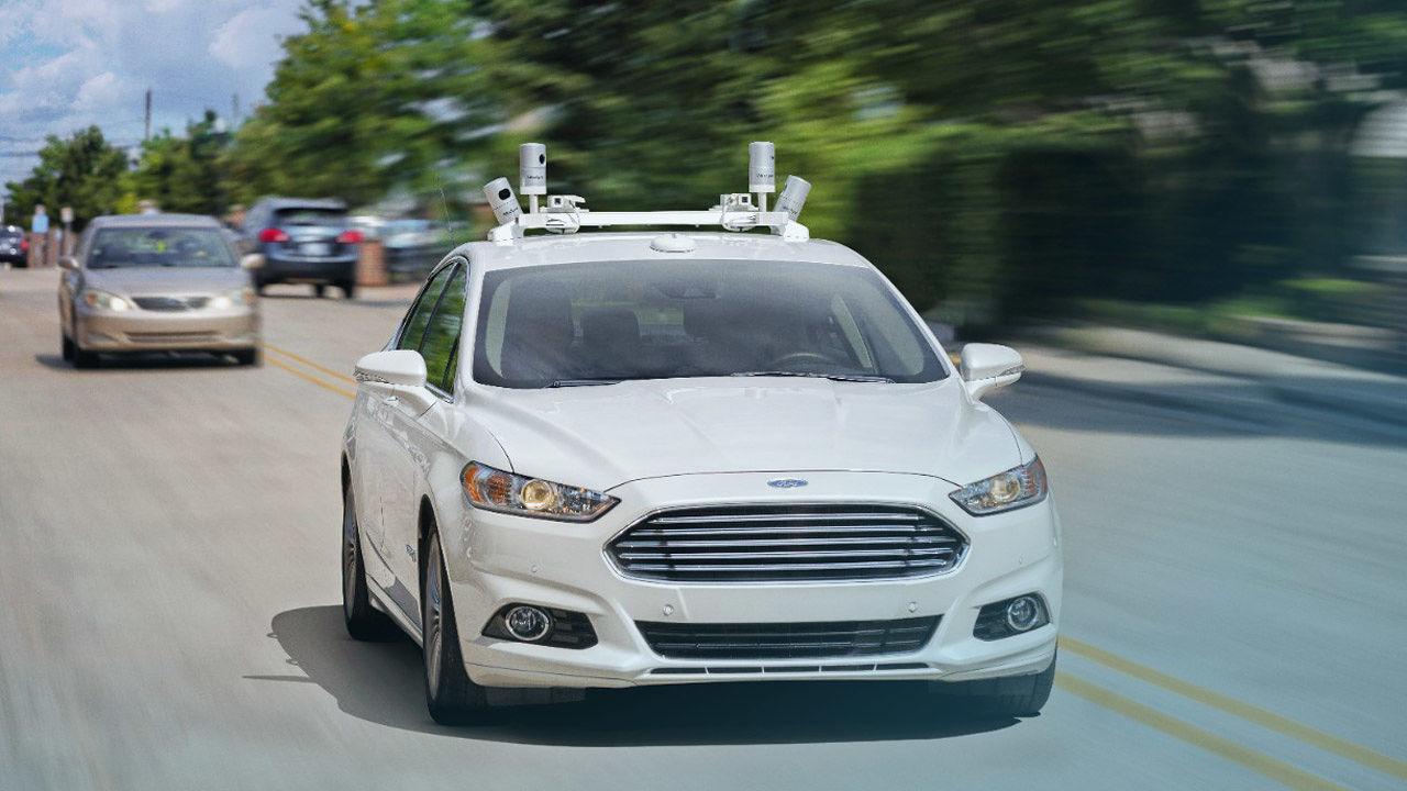 Компания Ford занялась разработкой собственной системы автономного управления автомобилем - 1