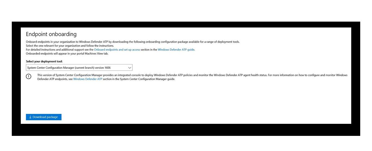 Служба Advanced Threat Protection в Защитнике Windows - 8