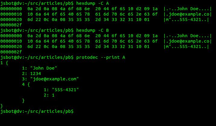 Реверс-инжиниринг сообщений Protocol Buffers - 1