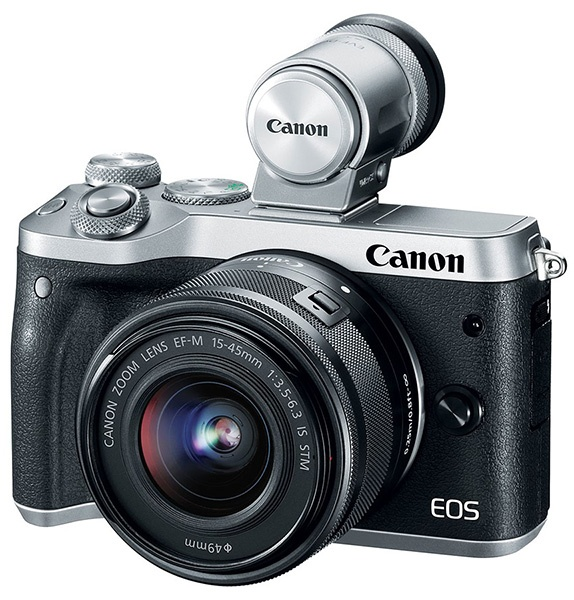 Canon EOS M6 и EVF-DC2