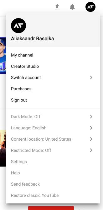 Youtube снова экспериментирует с дизайном - 2