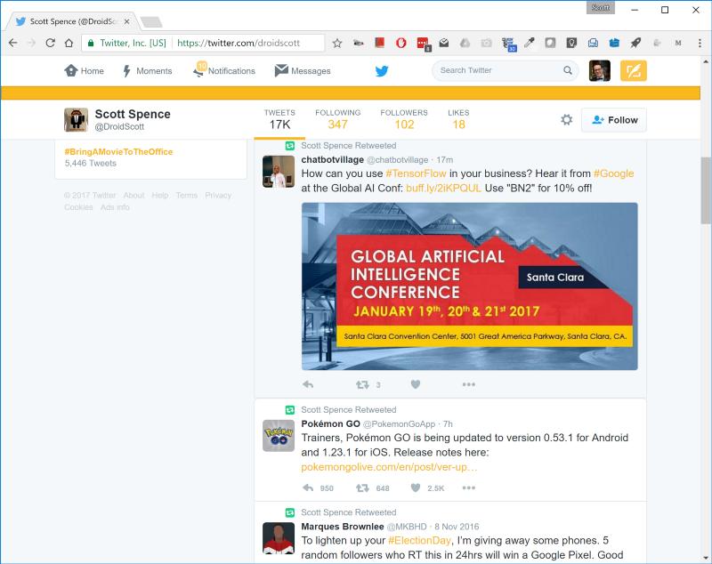 Почему вам может пригодиться собственный Twitter-бот и как создать его за полчаса - 11