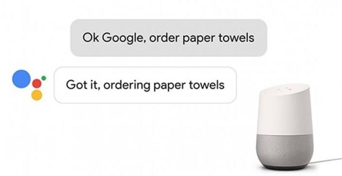 Колонка Google Home научилась заказывать продукты