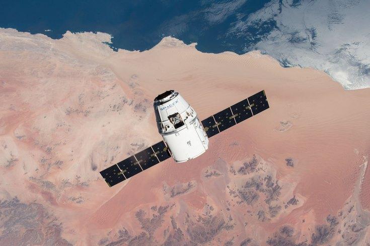 Корабль SpaceX Red Dragon отправится к Марсу в 2020 году