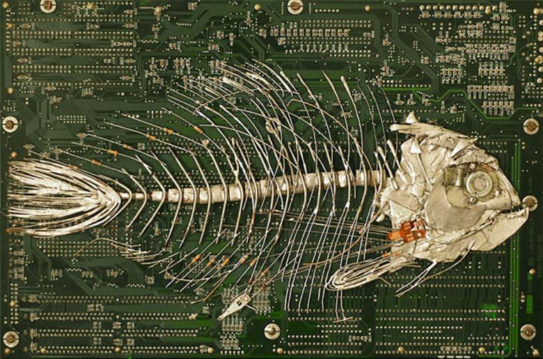 Арт-реновация старой компьютерной техники - 12