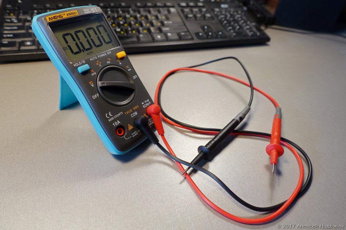 Могучий малыш — TrueRMS мультиметр Aneng AN8001 - 5