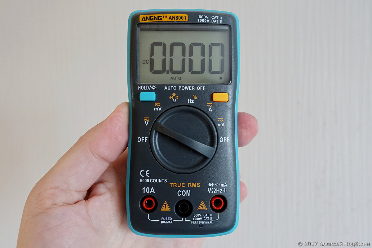 Могучий малыш — TrueRMS мультиметр Aneng AN8001 - 1