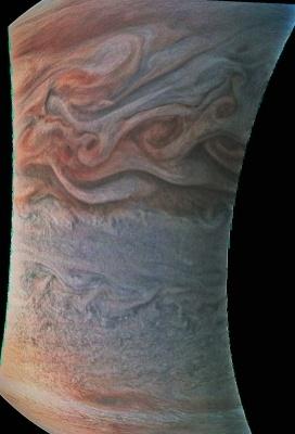 «Юнона» останется на промежуточной орбите Юпитера - 9