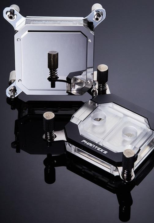 Водоблок Phanteks Glacier C350i оснащен встроенной подсветкой