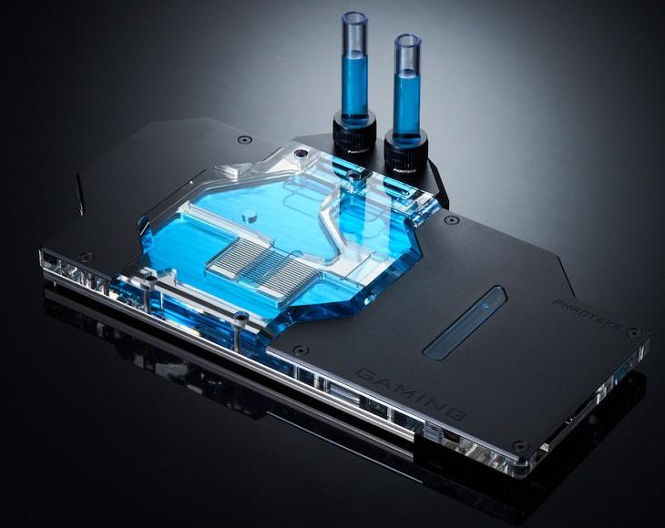 Серия водоблоков Phanteks Glacier теперь поддерживает популярные нереференсные серии видеокарт