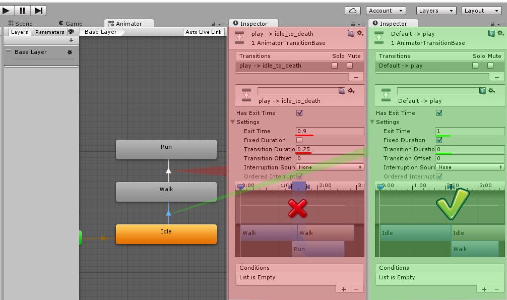 Оптимизация анимаций в Unity3D - 5