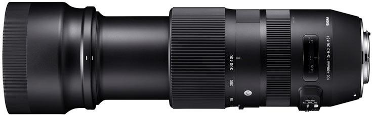 Цена телеобъектива Sigma 100-400mm F5-6.3 DG HSM OS Contemporary пока не названа