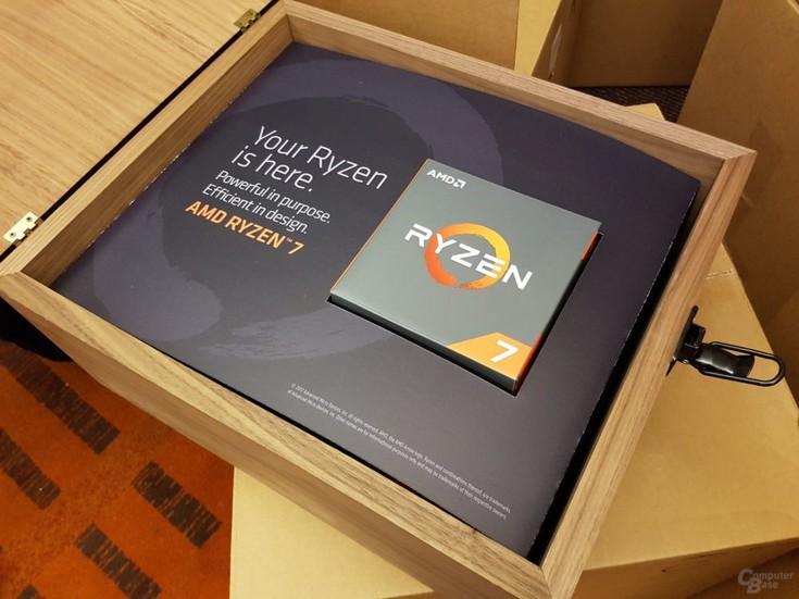 Представлены старшие процессоры AMD Ryzen