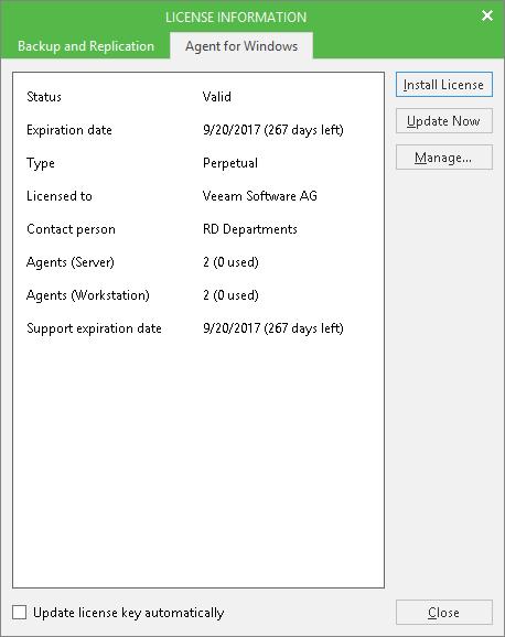 Физический бэкап: на смену Veeam Endpoint Backup пришел Veeam Agent for Microsoft Windows 2.0 - 6