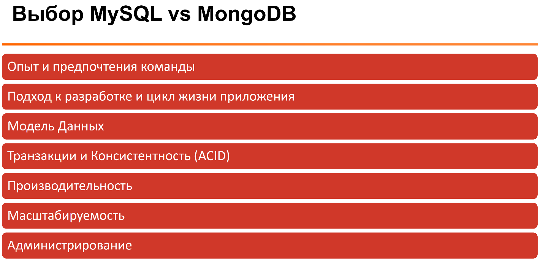 MySQL и MongoDB — когда и что лучше использовать - 5