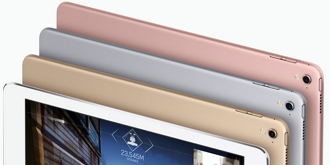 Новые iPad Pro с дисплеями диагональю 10,5 и 12,9 могут задержаться до июня 2017