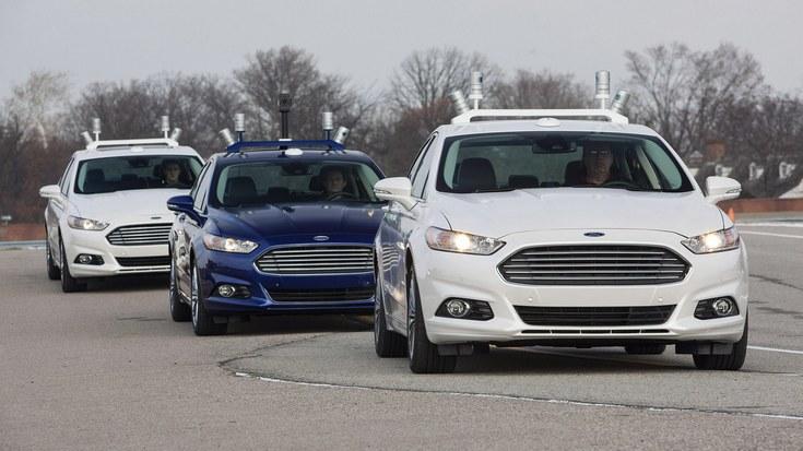 Ford решила удалить из своих беспилотных авто руль и педали