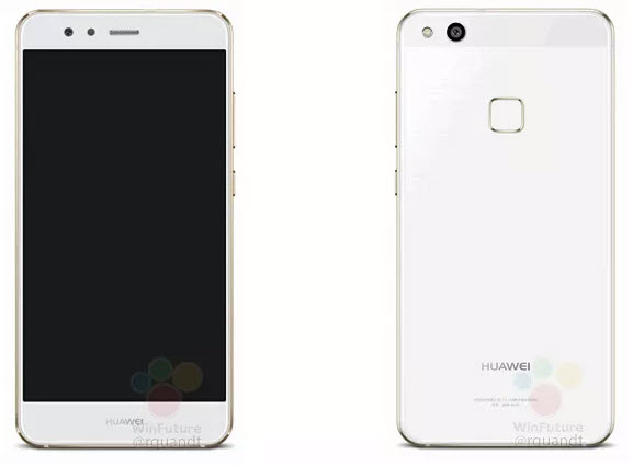 Опубликованы изображения и характеристики смартфона Huawei P10 Lite