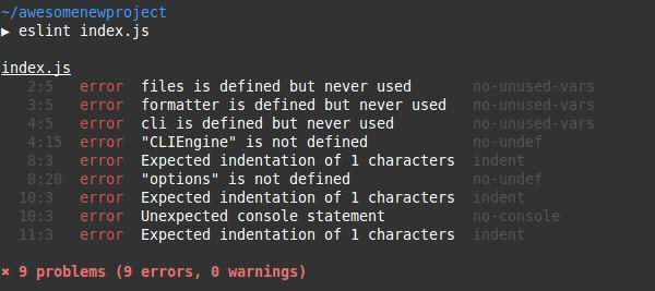 Сложно о простом: ESLint в команде - 1